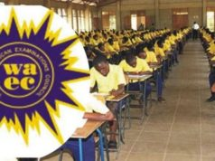 WAEC confirmed am attempt to let the first batch of free SHS beneficiaries pass