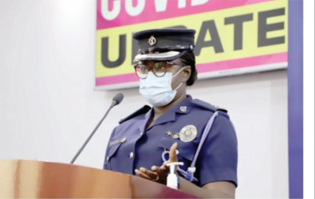 No church should accommodate more than 100 members in this Easter season –Ghana Police Service