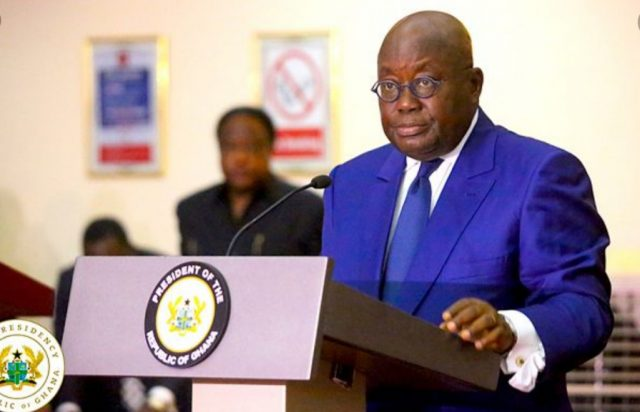 JUST INN: Akufo-Addo announced members of carbinet for his second term administration