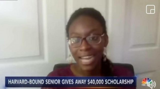 Ghanaian-American graduate shocks world by instantly donating $40,000 scholarship