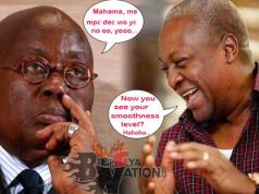 Just in: Akufo-Addo and Jean Mensah Exposed, Silence everywhere– Mahama