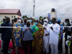 GOOD NEWS: Akufo-Addo commissions Ghana's largest Bulk Electricity Supply Point in Pokuase